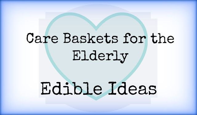 Need care package ideas for a senior citizen? Start with these edible donations to help fight hunger.