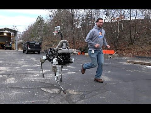 Does this robot dog creep us out? Yes. Are we fascinated and impressed despite our visceral terror? Also yes.