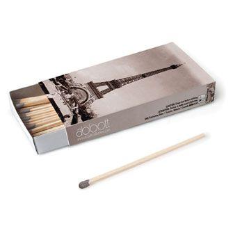 Paris Box of long stick matches #9606028 $2.99 www.lambertpaint.com