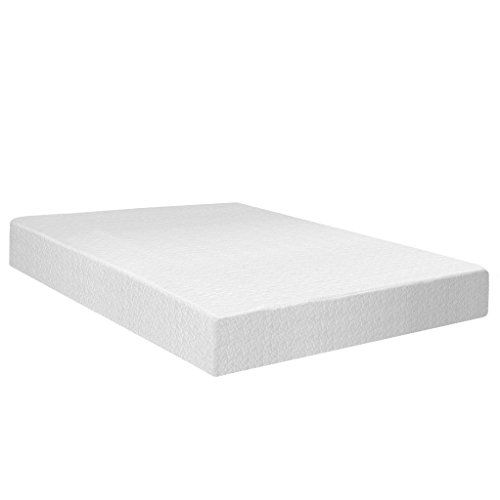 Best Price Mattress 12″ Memory Foam Mattress & 7.5″ New Steel Box Spring/Mattress Foundation Set, Full