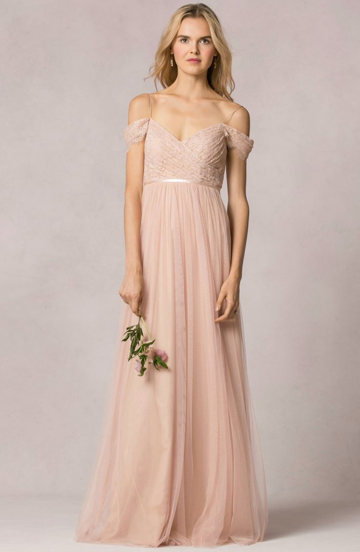 """""""Leighton"""" bridesmaid dress in lace/tulle by Jenny Yoo 