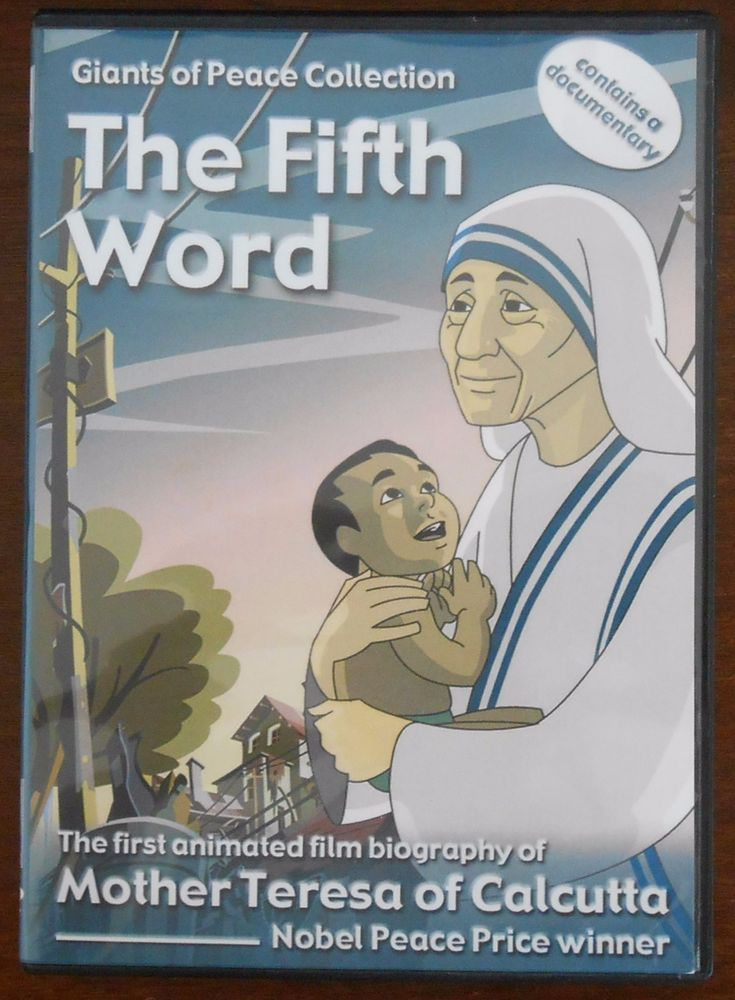 The Fifth Word The 1st animated film biography of Mother Teresa of Calcutta, DVD