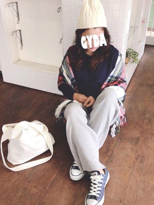 ✰✰✰✰ GYDA  ✧  トートバック スウェットワイドパンツ♡♡ やっと… 見つけた♡お気に入り