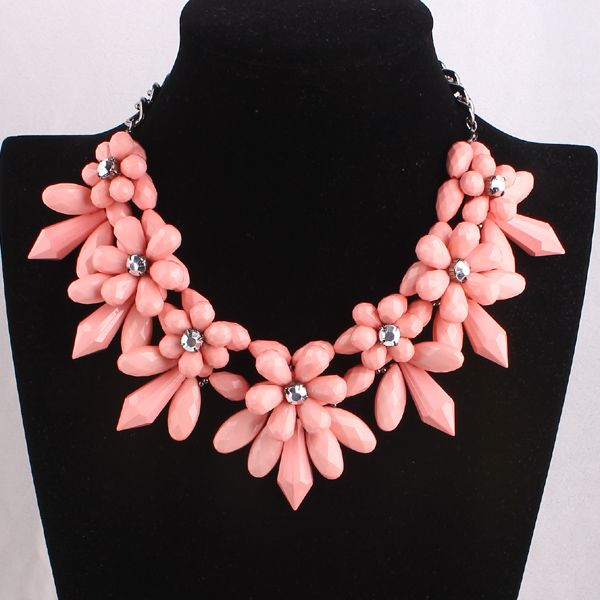 Blossom Peach Necklace