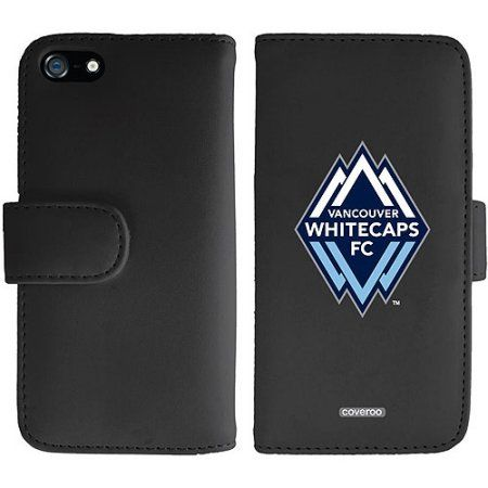 Vancouver Whitecaps FC Emblem Design on Apple iPhone 5SE/5s/5 Wallet Folio Case by Coveroo