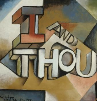 Colin McCahon - I and Thou
