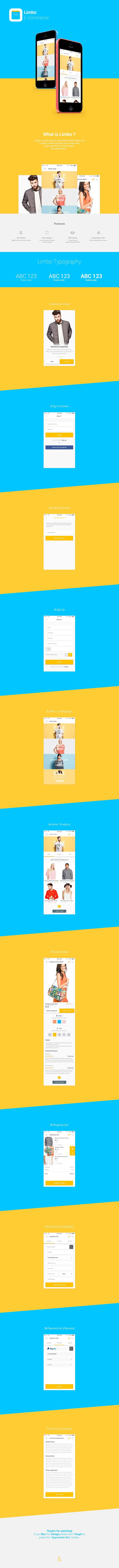 Limbo eCommerce app Design on Behance