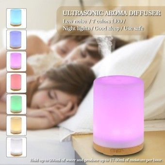 Check Price 200ml Cool Mist Humidifier 7 Colors LED light Ultrasonic AromaEssential Oil Diffuser Air Humidifier for Home Office Bedroom SPAYoga us plugOrder in good conditions 200ml Cool Mist Humidifier 7 Colors LED light Ultrasonic AromaEssential Oil Diffuser Air Humidifier for Home Office Bedroom SPAYoga us plug ADD TO CART NO037HAAAC04M0ANMY-25231470 Home Appliances Cooling & Heating Air Treatment Not Specified 200ml Cool Mist Humidifier 7 Colors LED light Ultrasonic AromaEssential Oil