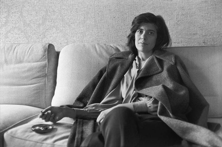 Henri Cartier-Bresson, Susan Sontag, 1972. © Henri Cartier-Bresson/Magnum Photos.
