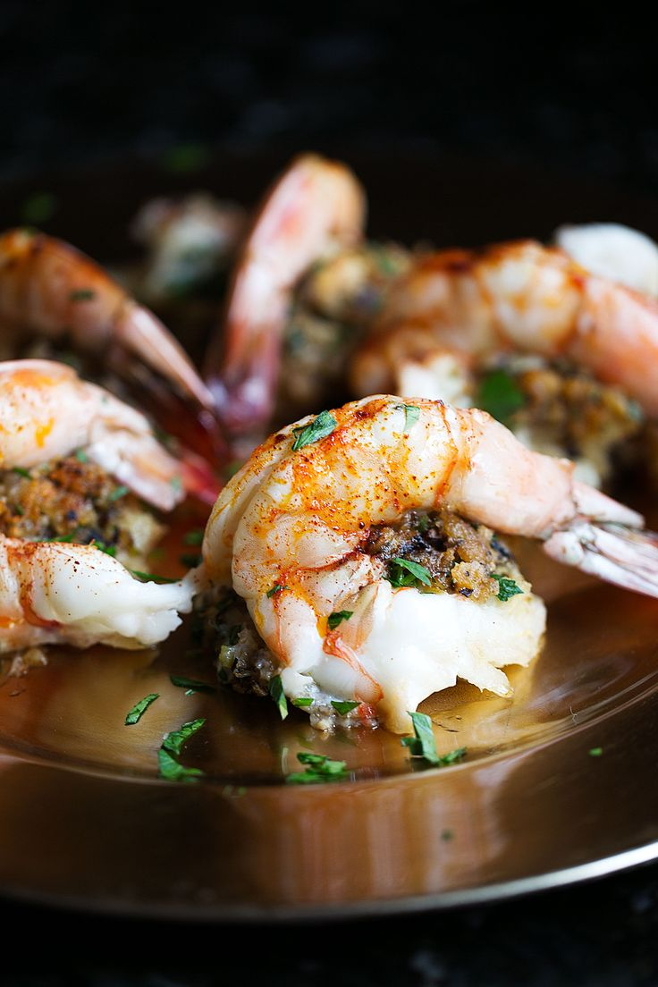 Baked Stuffed Shrimp recipe from Cooking with Cocktail Rings
