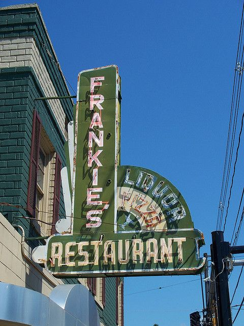 Frankie's Restaurant in Hubbard, Ohio.  Before it was Frankie's it was Longo's.  Much loved...burnt...gone forever