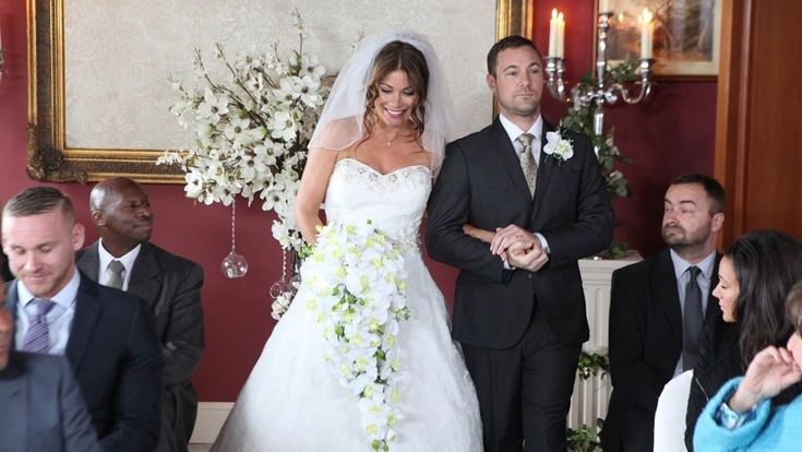 Carla's wedding dress