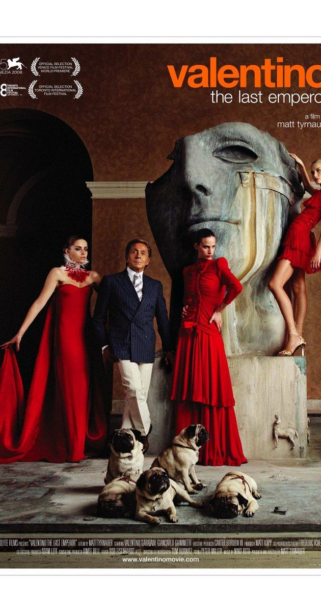 Directed by Matt Tyrnauer.  With Valentino Garavani, Giancarlo Giammetti, Nati Abascal, Giorgio Armani. A look at the life of legendary fashion designer Valentino.