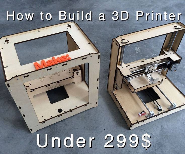 Building a 3D Printer Under $299. http://www.instructables.com/id/Building-a-3D-Printer-Under-299/?utm_content=buffer05d7a&utm_medium=social&utm_source=pinterest.com&utm_campaign=buffer #survivalskills #DIY