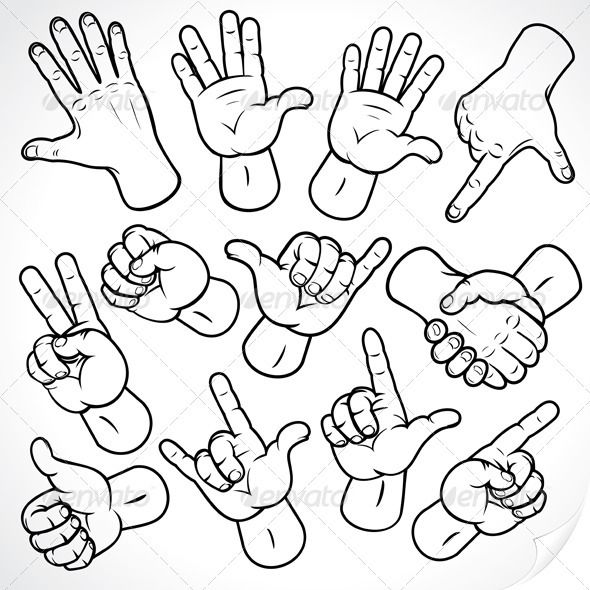 Sketching Hands #GraphicRiver Contour Hands Vector Collection, Accuracy Sketching of Hand Gestures and Signs Pack Includes versions: – AI, EPS , CDR and HIGH rez JPG Keywords: up, arm, one, gun, set, mark, down, pose, sign, male, grip, fist, icon, body, five, palm, hands, human, thumb, image, metal, middle, symbol, finger, people, cursor, design, forefinger Created: 23January12 GraphicsFilesIncluded: JPGImage #VectorEPS #AIIllustrator Layered: No MinimumAdobeCSVersion: CS Tags: Forefinger…