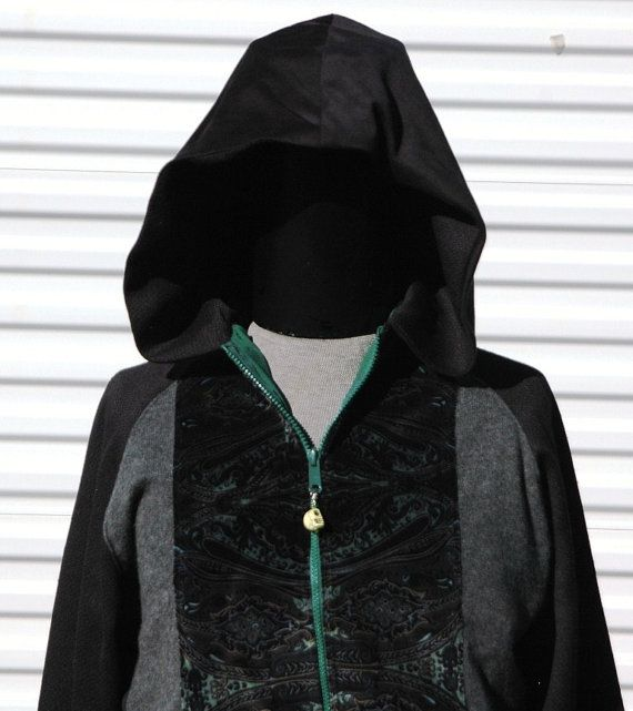 New Mens Suede Patch Fleece Zip Hoody Hoodie Sweatshirt Top Size S M L