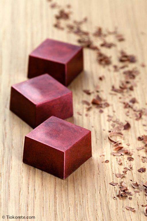 Cioccolatini Tiokorete: Fragola e aceto balsamico