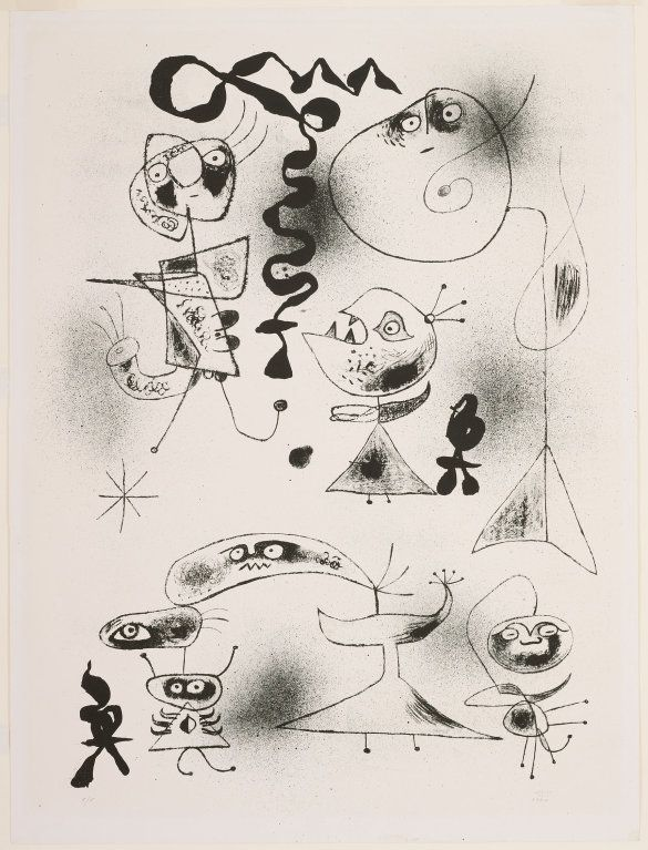 Joan Miró (1893-1983), Untitled - Plate One from Barcelona Series