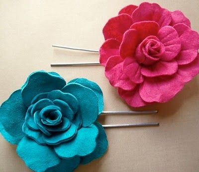 Leather rose tutorial