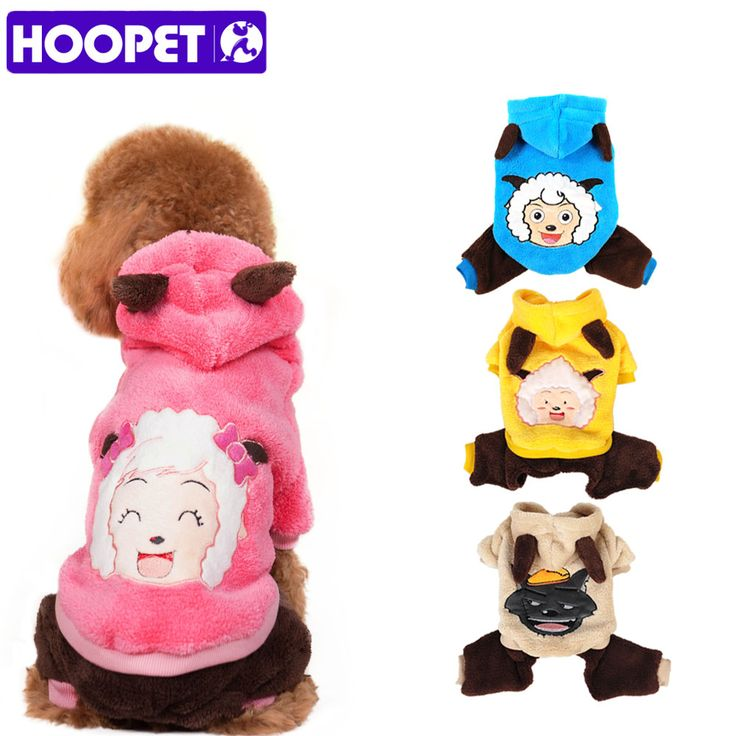 Pet Dog Cat Clothes Fashion Cute Cartoon Images Soft Warm Velvet Puppy Autumn Winter Coat Cosplay Costume #>=#>=#>=#>=#> Click on the pin to check out discount price, color, size, shipping, etc. Save and like it!