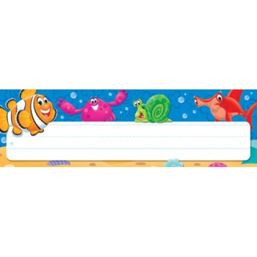 Sea Buddies™ Desk Toppers® Name Plates, T-69243