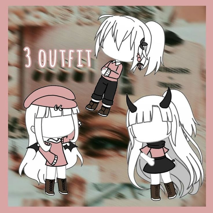 3 outfit🌿 Gacha.life | Character outfits, Manga clothes ...