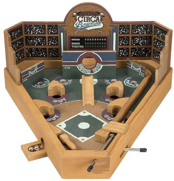 Hey! Play! Tabletop Baseball Pinball Game, gifts for men, gifts for him, gifts for boyfriend, gifts for father, gifts for dad