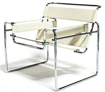 Cadeira Wassily - Marcel Breuer