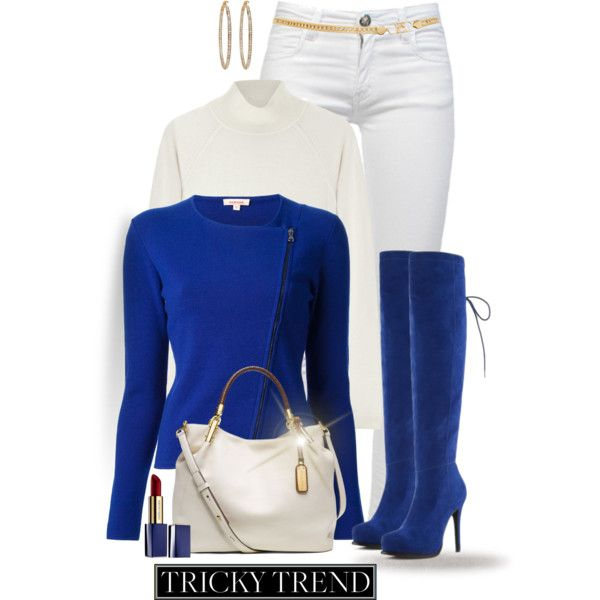 """""""* Blue Suede Boots *"""" by hrfost1210 on Polyvore"""