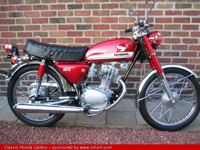 1971 Honda CB100 - Owned one of these from new.  Went everywhere on that bike.