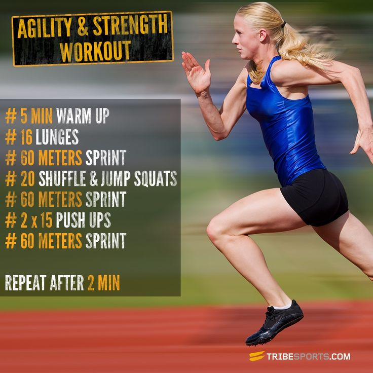 Take on this agility workout to dodge, dummy and double-back at speed. Need this for softball ;)