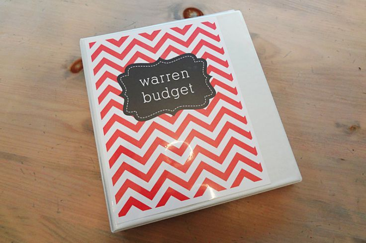 Insstead Of Budget You Could Put Your Name For Binder