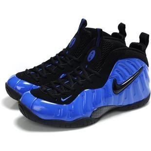 Nike Air Foamposite Blue/Black/White