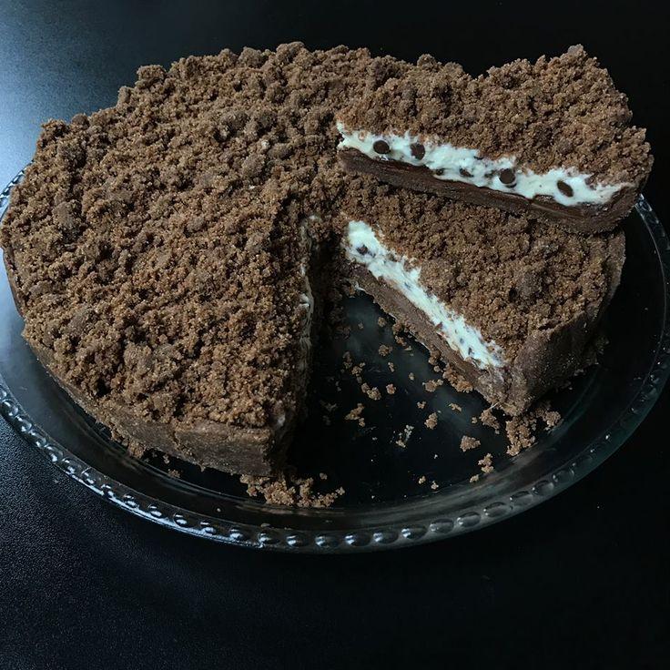 Sbriciolata Ricotta, Mascarpone e Cioccolato (Senza Cottura)
