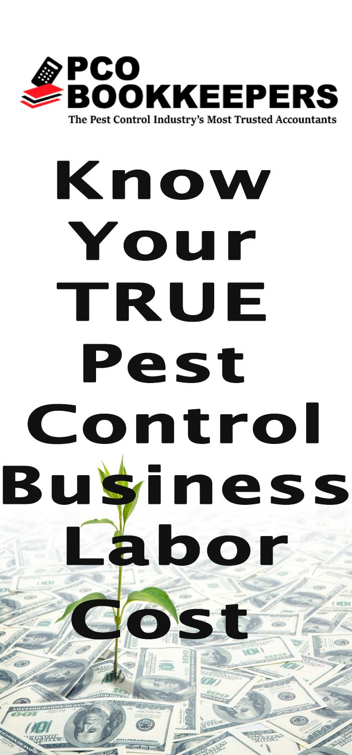 Pest Control Business Labor Cost: Know Your TRUE Cost of Labor. How much are your labor costs? Do you REALLY know what you spend in Labor Cost for Pest Control Business Owners?   #bookkeeping #accounting #bookkeeping_services #pco_industry #pcobookkeepers #accounting_tips #kpi #tax_tips #tax_audits #taxes #tax_deductions #accounts_payable_consultants #business_consultants #gross_margins #kpi_tips #management_advice #employee_compensation_tips