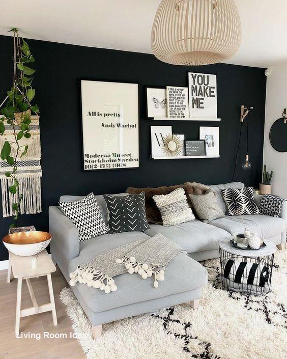 Cozy Living Room Decor For Small Modern Boho Or Rustic Living Rooms In 2020 Modern Farmhouse Living Room Decor Trendy Living Rooms Living Room Scandinavian #small #modern #farmhouse #living #room