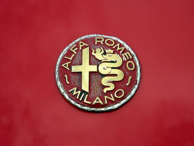 The only way to drive to heaven is in an Alfa Romeo