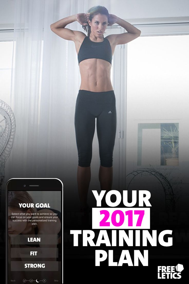 Ready to make a change? 2017 is your year. ✔ Personalized training plans. ✔ Lose weight fast and healthy. ✔ Try out 11 workouts for free. ►►► Start today: https://www.freeletics.com