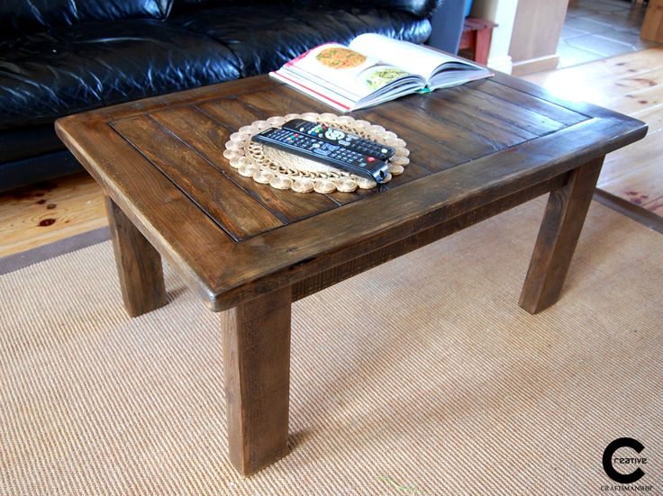 Pallet wood coffee table to buy at http://www.donedeal.ie/livingroom-for-sale/rustic-coffee-table/6900623