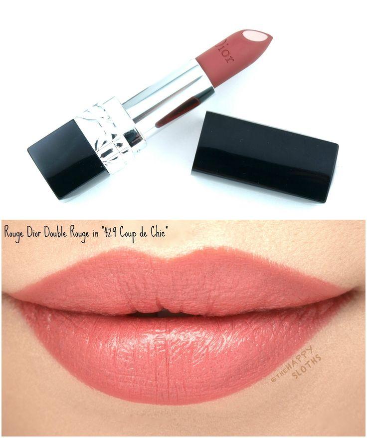 Dior rouge dior double rouge lipstick in 429 coup de chic - Housse de coussin 65 65 ...