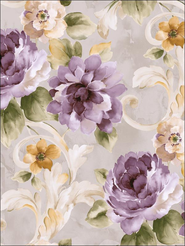 wallpaperstogo.com WTG-120155 Seabrook Designs Traditional Wallpaper