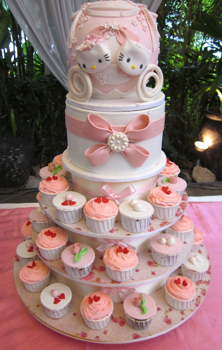 1000 Images About Hello Kitty Cakes On Pinterest Hello