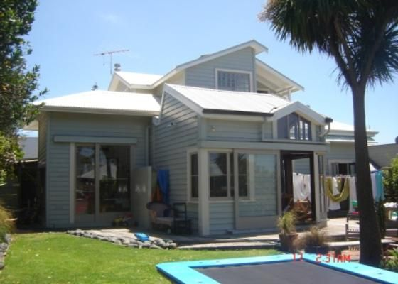 From the back of House Ponsonby Villa - sleeps up to 8