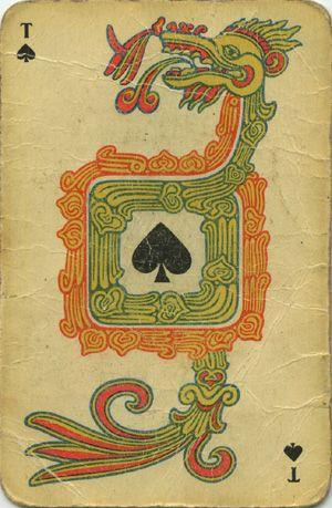 Для любителей мексиканских индейцев старые карты по мотивам майя.