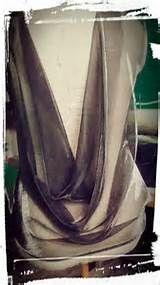 vestido drapeado lateral | Patrones