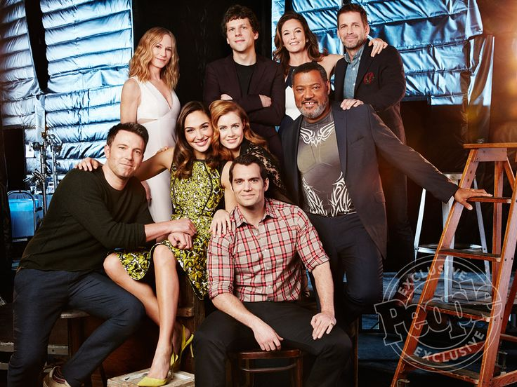 Who Bonded? Who Kissed? The Superstars of Batman v Superman Pose for PEOPLE http://www.people.com/article/batman-v-superman-cast-photo-ben-affleck-henry-cavill