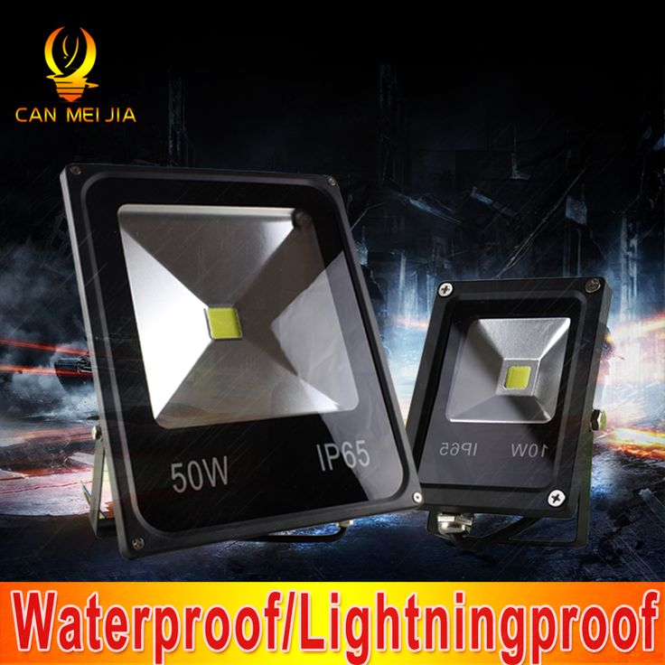 Светодиодный Прожектор Уличный IP65 Водонепроницаемый Светодиодный Прожектор Из двери Наружные светодиодный Прожектор Reflecter 10 Вт 20 Вт 30 Вт 50 Вт 100 Вт 110 В 220 В