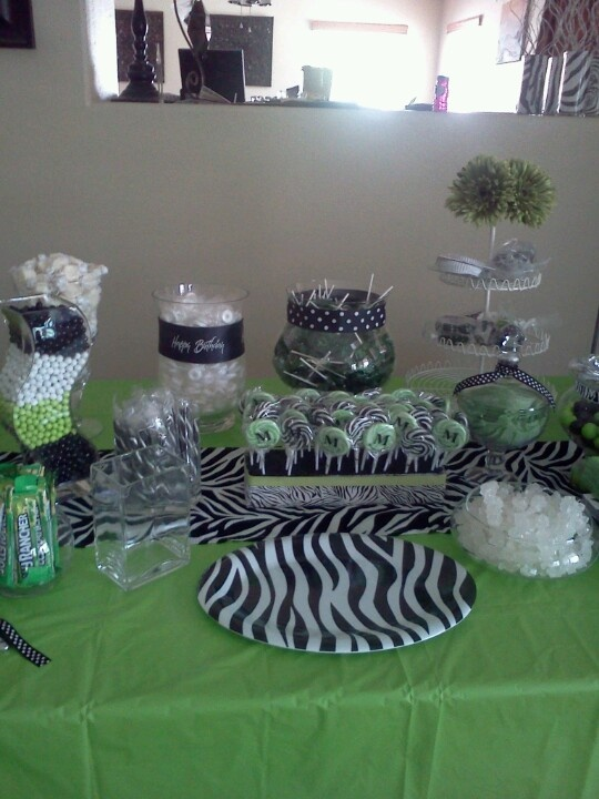 Classroom Decorating Ideas With Zebra Print ~ Ideas about zebra party decorations on pinterest