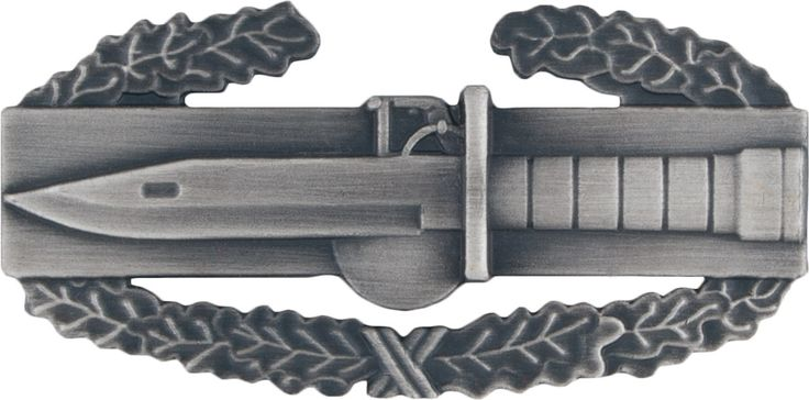 Combat Action Badge First Award (2005 > 2001)