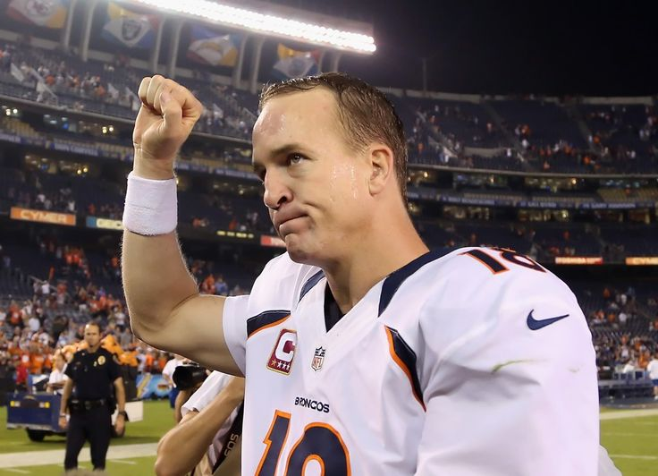 Peyton Manning images | ... comeback victory for Peyton Manning. (Jeff Gross / Getty Images